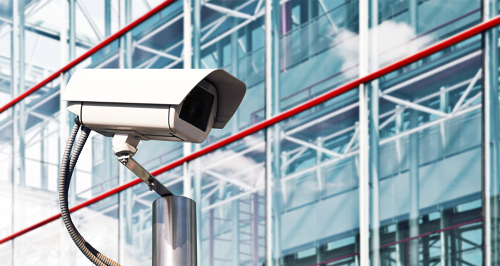 Security systems and CCTV Canary Wharf camera