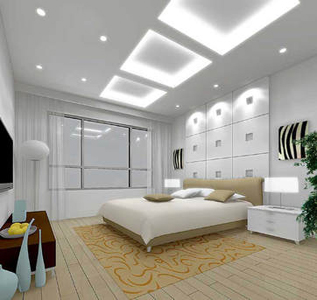Led lighting and Switching in bedroom